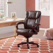 La-Z-Boy Bellamy Executive Bonded Leather Office Chair ...