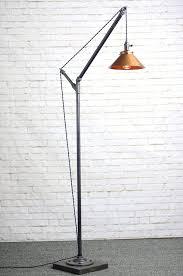 Rustic Industrial Floor Lamps Enchanting Lamp Bulb