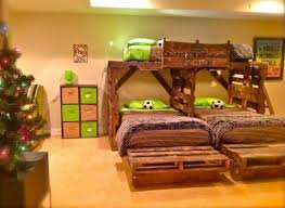 Furniture Kids Pallet Bedroom Ideas