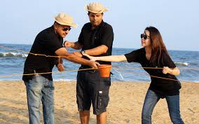 The Beach Olympics Challenge Comprises A Series Of Really Fun Team Challenges