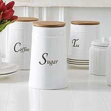 Ceramic Kitchen Canister Sets Farmhouse Kitchen Canisters Set Of 3