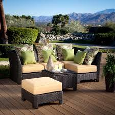 phenomenal piece wicker patio set outdoor conversation ideas ture