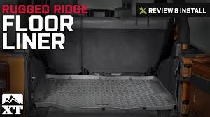Rugged Ridge Floor Liners by Jeep Wrangler Rugged Ridge Floor Liner 2007 2016 Jk Review