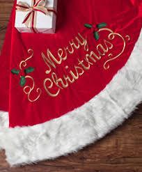 Merry Christmas Velvet Tree Skirt
