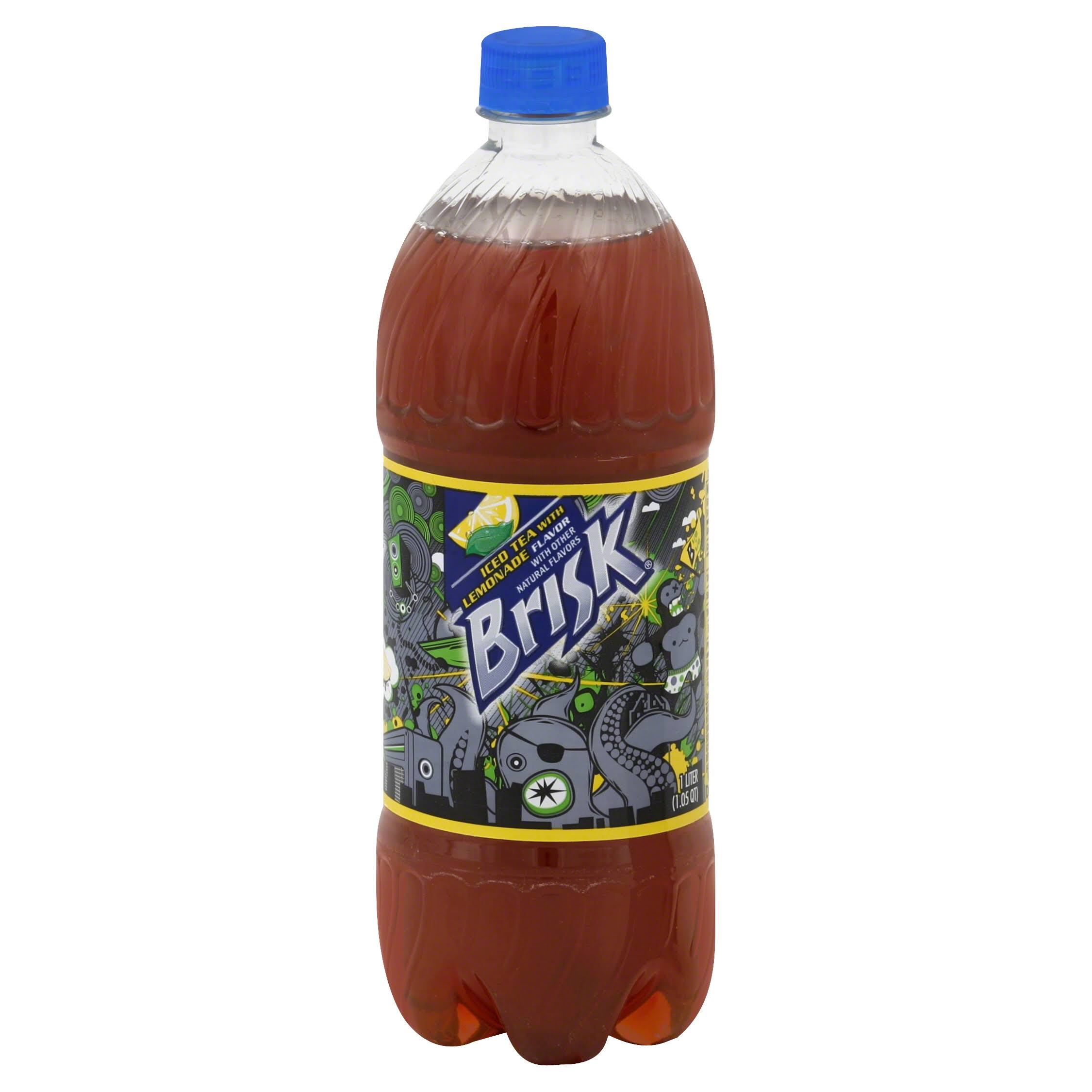Brisk Half & Half Iced Tea & Lemonade - 1l