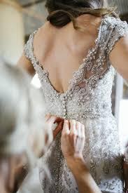 Bridal Designer Anna Campbells Glamorous Rustic Wedding
