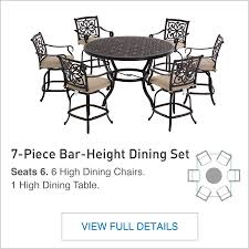 7 Piece Patio Dining Set Canada by Shop The Ebervale Patio Collection On Lowes Com