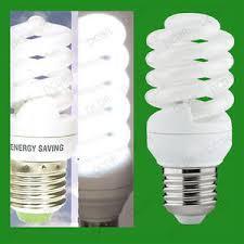 11w 40w daylight low energy cfl power saving sad 6400k white