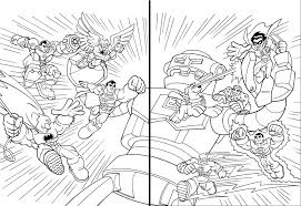 Coloring Pages Super Friends Breadedcat Free Intended For Dc