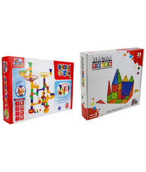 Magna Tiles 100 Piece Target by Flying Start 32 Pieces Magna Tiles And 53 Pieces Marble Run
