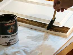 How to Antique Furniture with Glaze or Stain