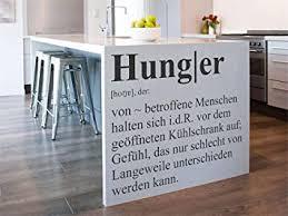 wandtattoo küchen hunger definition wandaufkleber küche