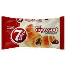 Photo Of 7 Days Croissant Soft With Chocolate Cream Filling 265 Oz 75