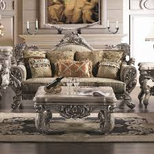 Furniture3 Piece Traditional Living Room Table Furniture With Decorative Vase Sets