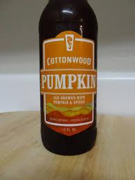 Harvest Pumpkin Ale by Cottonwood Pumpkin Ale First Pour Wine