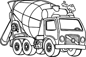 Good Cement Truck Coloring Page | Wecoloringpage Garbage Truck Transportation Coloring Pages For Kids Semi Fablesthefriendscom Ansfrsoptuspmetruckcoloringpages With M911 Tractor A Het 36 Big Trucks Rig Sketch 20 Page Pickup Loringsuitecom Monster Letloringpagescom Grave Digger 26 18 Wheeler Mack Printable Dump Rawesomeco