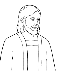 Free Printable Jesus Coloring Pages For Kids At Christ Best Of