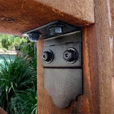 Simpson Decorative Joist Hangers by Amazon Com 90 Degrees Flush Inside Decorative Structural Wood