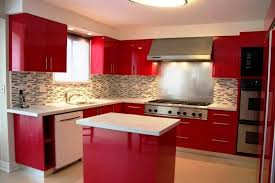 Elegant Beautiful Kitchen Color On Red Colorful Ideas My New Pertaining To
