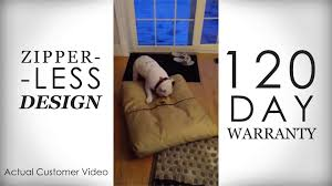 Chewproof Dog Bed by Chew Proof Dog Bed Customer Videos Youtube