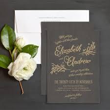 Rustic Chic Wedding Invitations By Emily Crawford