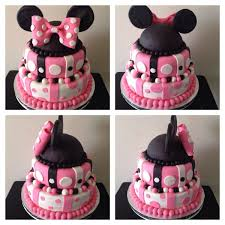 Minnie Mouse Baby Shower Cake My Cake Creations Baby Shower
