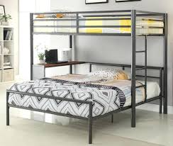 Queen Bunk Bed Desk Image Full Size Loft Beds With Queen Size