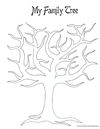 Easy To Draw Family Tree Template Eczalinf Of