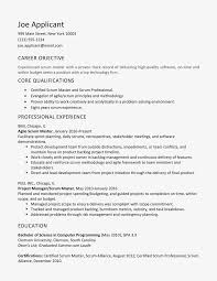 100 Agile Resume Scrum Master Cover Letter And Examples