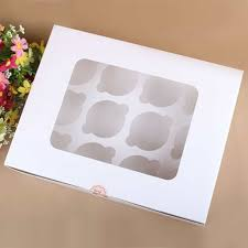 12 Count Cupcake Box Insert 200 Pack 360375