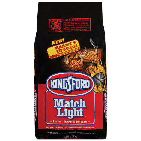 Kingsford Match Light Instant Charcoal Briquets - 11.6lb