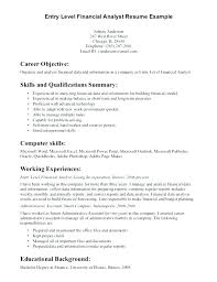 Sample Cook Resume Line Samples Prep Entry Level Data Analyst X Objective Examples