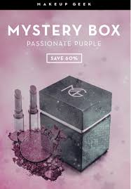 Makeup Geek - Purple Passion Mystery Box $20 For $50 Worth ...