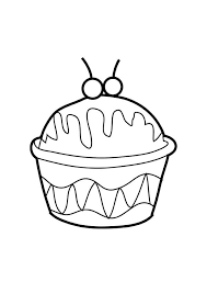 Ice Cream In Cup Coloring Pages