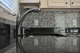 kitchen backsplash blue backsplash tile glass subway tile