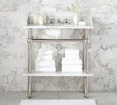 Sophisticated Bathroom Apothecary Single Sink Console Pottery Barn