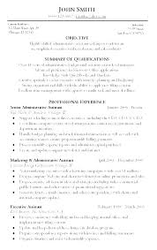 Administrative Assistant Resume Skills Executive Sample Bilingual
