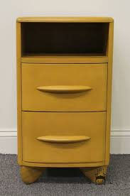 Heywood Wakefield Dresser With Mirror by High End Used Furniture Heywood Wakefield Plaza Group Leo