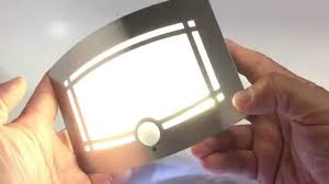 intsun pir led hallway closet light battery powered motion