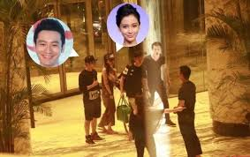 Huang Xiaoming And Angelababy Were Seen Together At Hotel Clearing The Rumor Of Breaking Up
