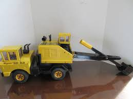VINTAGE TONKA TRUCK Shovel Steel Yellow Black Working Condition ...