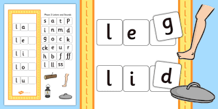 l Word Activity Including Phase 2 Letters and Sounds words