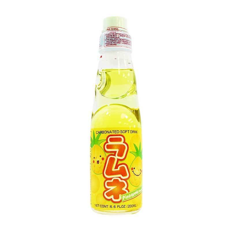 Pineapple Ramune Japanese Soda - 6pk