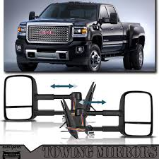 100 Chevy Gmc Trucks Details About Manual Tow Side Mirror For 19881998 GMC CK 150025003500 Truck LHRH