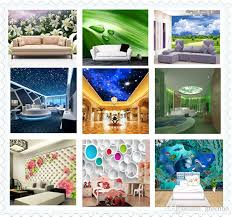 3D Giant Photo Wallpaper Letter Number Wall Mural Personality Bedroom Hallway Room Decor Sofa TV Setting Art Home Decoration