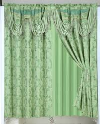 Jcpenney Lisette Sheer Curtains by Luxury Jacquard Blackout Curtains Panels Drapes Window Set With