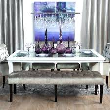 Z Gallerie Dining Table Bench Coffee Pewter Furniture