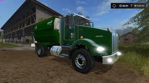 100 Feed Truck KENWORTH FEED TRUCK FS17 Farming Simulator 17 Mod FS 2017 Mod