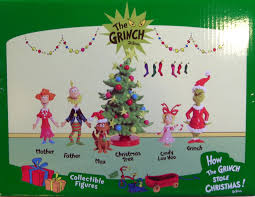 The Grinch Christmas Tree by Amazon Com Just Play Dr Seuss Grinch Holiday Figures Set Toys