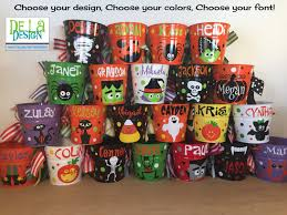 Mcdonalds Halloween Buckets by Personalized Halloween Trick Or Treat Metal Bucket 2 Quart